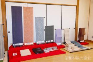 昭和村のからむし織